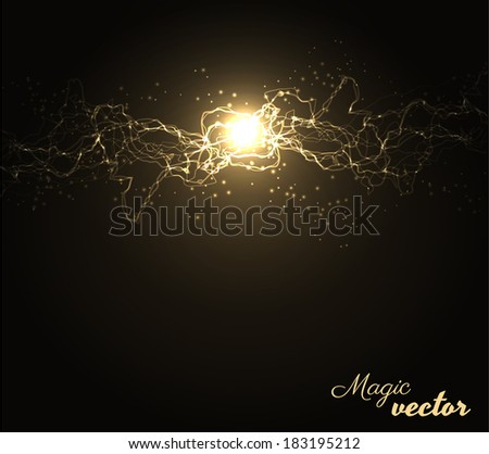 Energy background. Vector eps10 - stock vector