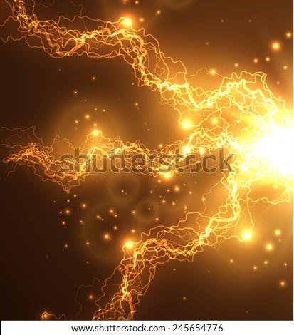 Energy background. Vector eps10. - stock vector