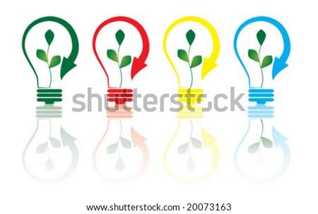 energy concept - stock vector