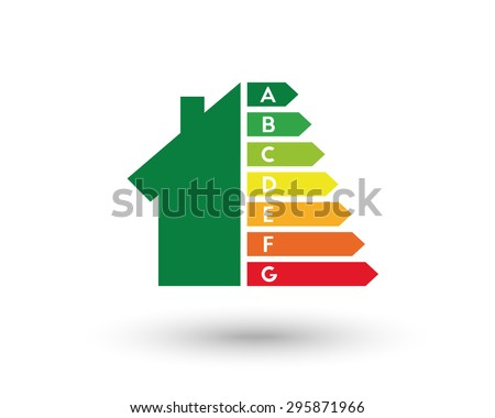 Energy efficiency and home improvement concept. Eps10 vector illustration. - stock vector