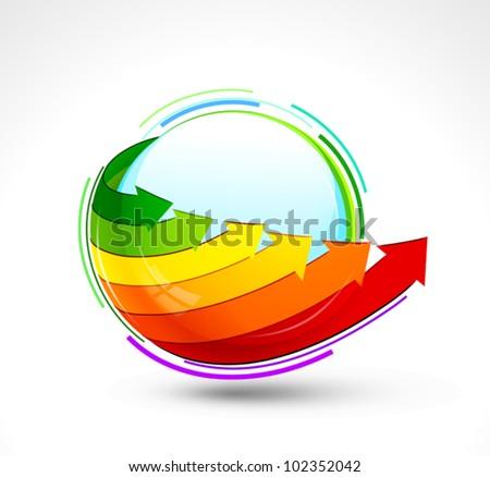 Energy icon. Vector illustration - stock vector