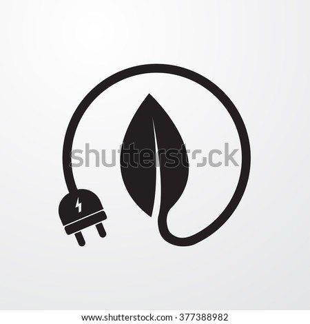 Energy Icon Vector Illustration  - stock vector