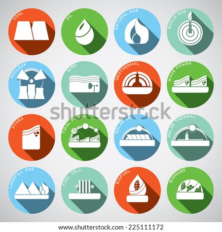 energy spot icon - stock vector