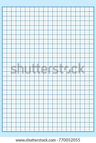 engineering graph paper printable graph paper stock vector 770052055 rh shutterstock com graph paper vector art graph paper background vector