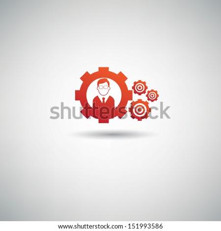 Engineering symbol,vector - stock vector