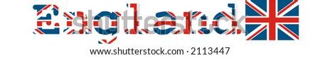 England - vector illustration - stock vector