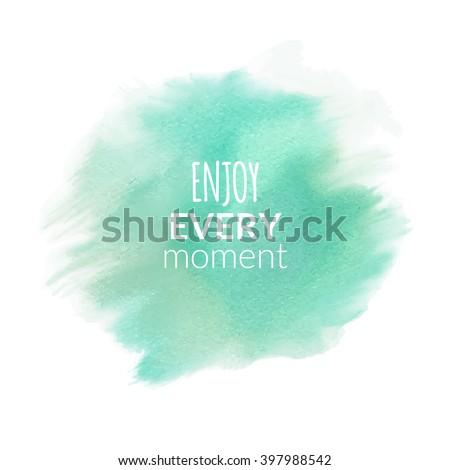 watercolor template