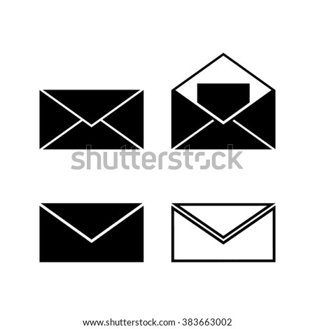 Envelope Message Letter Vector Icon