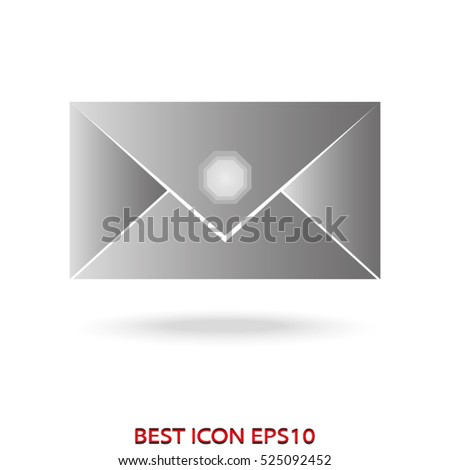 envelope vector icon, eps10