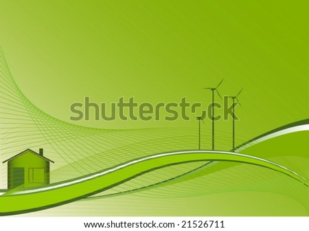 Environment background - stock vector