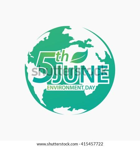 Environment Day - stock vector