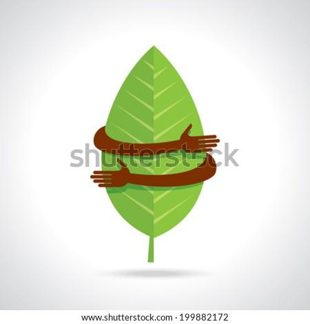 environmental care vector - stock vector