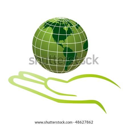 environmental protection - stock vector