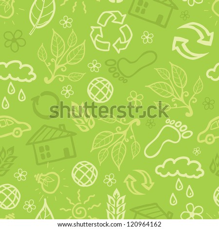 Environmental seamless pattern background