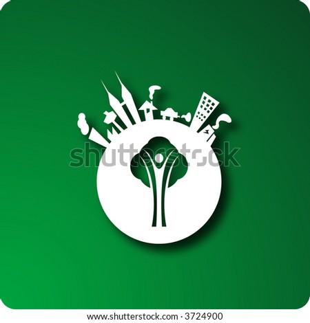 Environmentalism - stock vector