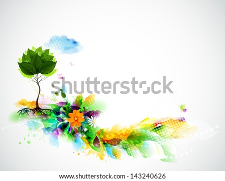 Environmentally concept - stock vector