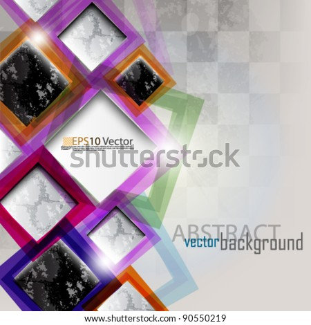 eps10 abstract modern website vector design - stock vector