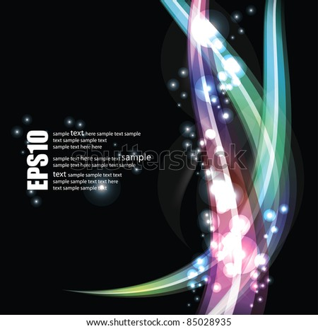 eps10 abstract vector background