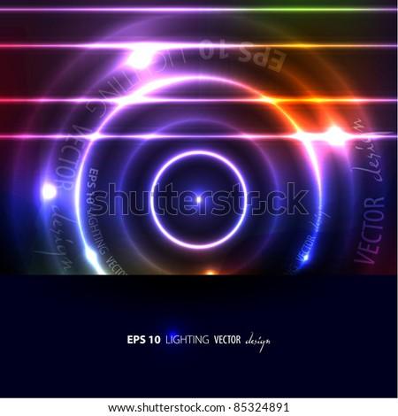 EPS10 Abstract Vector Circles - stock vector