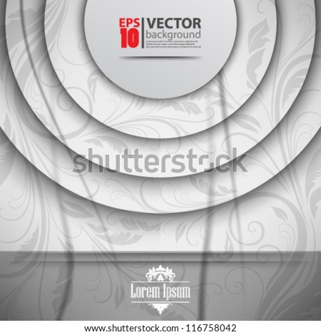 eps10 abstract vector design - stock vector
