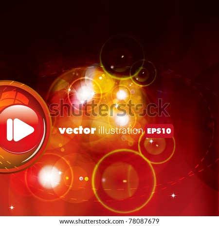 eps10 abstract vector design - stock vector