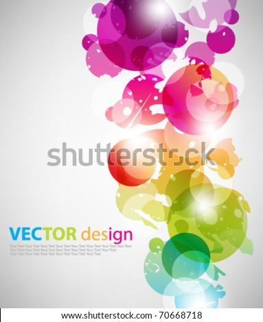 eps10 abstract vector multicolor