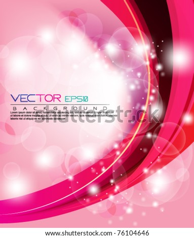 eps10 abstract vector wave background - stock vector