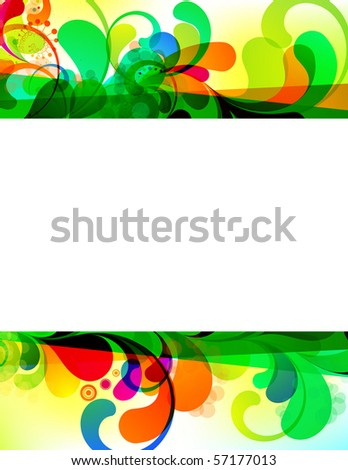 EPS10. Attractive editable background. - stock vector