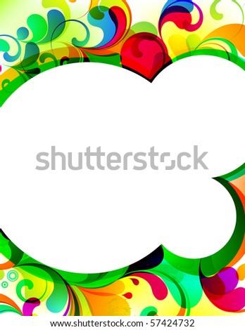 EPS10. Attractive editable background. - stock vector