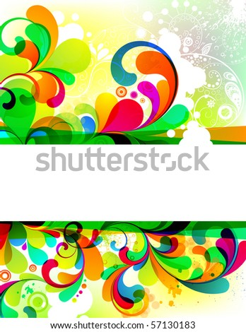 EPS10. Attractive editable background. Visit my portfolio for more similar images - stock vector