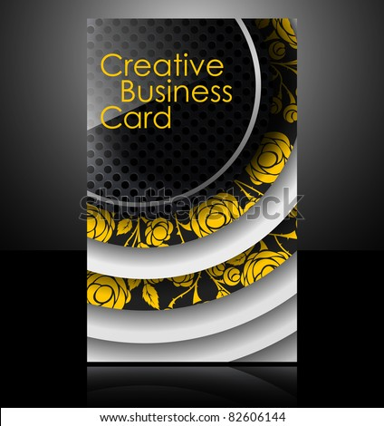 eps10, brochure card banner metal flower glass abstract background style business