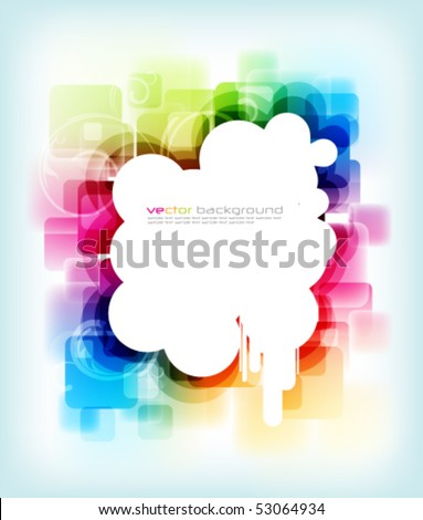 eps10 colorful background - stock vector