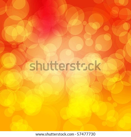 EPS 10 Colorful Bokeh Abstract Vector Background - stock vector
