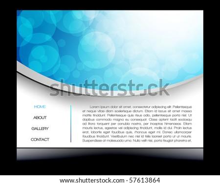 EPS 10 colorful circles vector design - stock vector