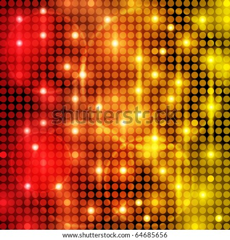 EPS10 Colorful Dots Abstract Vector Background - stock vector