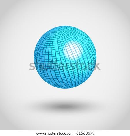 EPS10 3D World globe vector illustration - stock vector