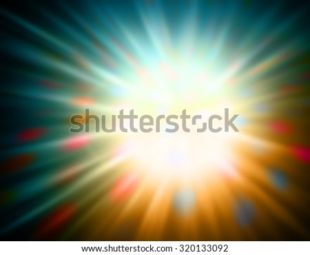 EPS8 editable vector abstract background burst created with a gradient mesh - stock vector
