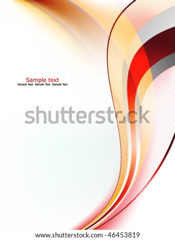 Eps10 Elegant Background - stock vector