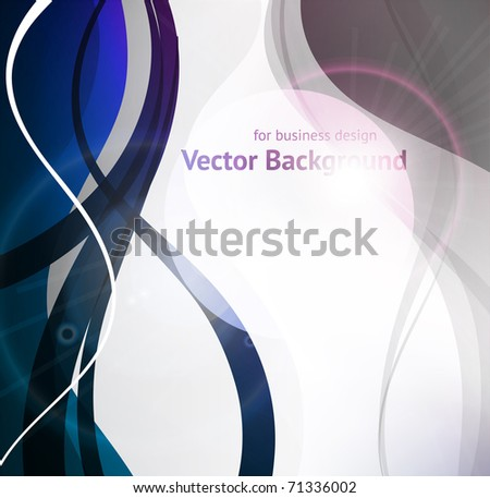 EPS10. Fully editable luxury design with bright elements to attract attention to your message. - stock vector