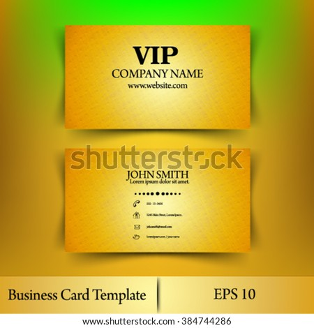 Eps10 vector abstract black and gold concept vip card business templates - stock vector