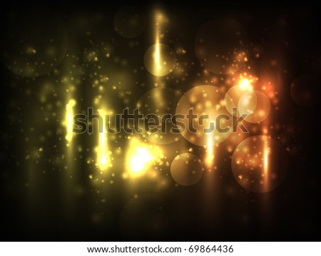 EPS10 vector abstract bokeh blur design - stock vector