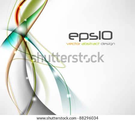 eps10 vector abstract design background - stock vector