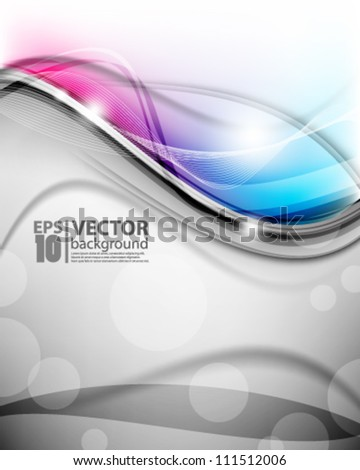 eps10 vector abstract elegant background - stock vector