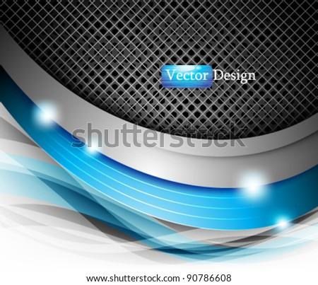 Eps10 Vector Abstract Modern Futuristic Design - stock vector