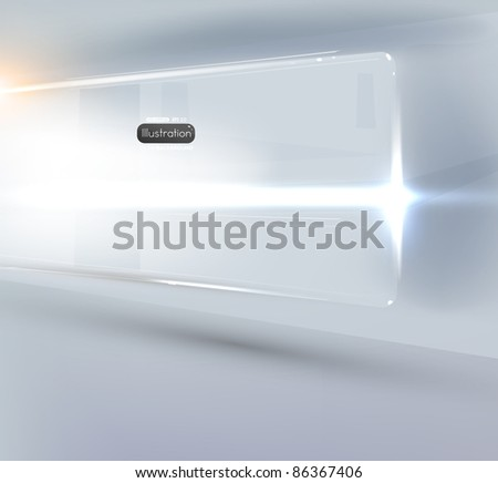 EPS10 vector abstract shine background - stock vector