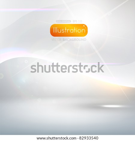 EPS10 vector abstract swirl - stock vector