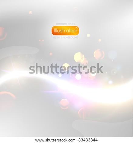 EPS10 vector abstract swirl - stock vector
