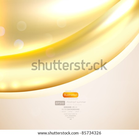 EPS10 vector abstract swirl for background - stock vector