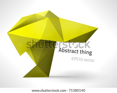 EPS10 vector abstract thing for your design - stock vector