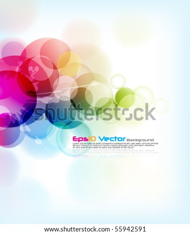 eps10 vector background - stock vector
